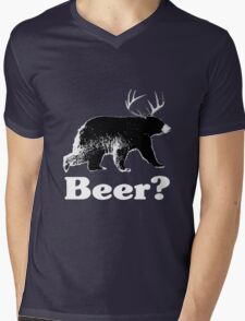 Beer? Mens V-Neck T-Shirt