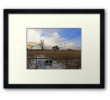 Rural Relics Framed Print