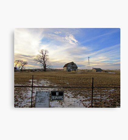 Rural Relics Canvas Print