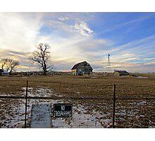 Rural Relics Photographic Print