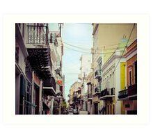 Old San Juan Puerto Rico 1 Art Print