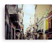 Old San Juan Puerto Rico 1 Canvas Print