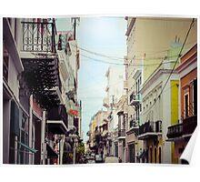 Old San Juan Puerto Rico 1 Poster
