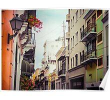 Old San Juan Puerto Rico 2 Poster