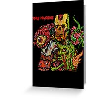 Gore Machine Greeting Card