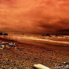 Red Storm Ruby by Sarah Ella Jonason