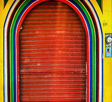 Red Door - Ensenada by LoneTreeImages