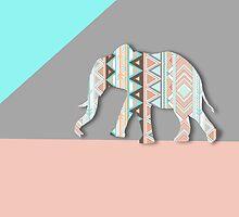 Tribal Elephant  by sunkisseddesign