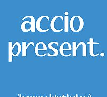 Accio Present by writerfolk