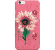 Splatter Flower iPhone Case/Skin