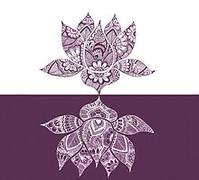 Yin Yang Lotus by mindfullymade
