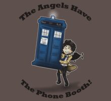 Castiel Has The Phone Booth by Kieren Lindholm