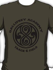 Gallifrey Academy Track & Field Team - Dark T-Shirt