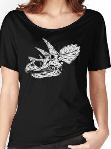 Dino Skull Women's Relaxed Fit T-Shirt