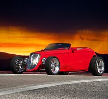 1933 Ford Custom Roadster II by DaveKoontz