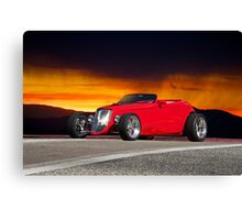 1933 Ford Custom Roadster II Canvas Print