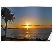 Fingal Sunrise Poster