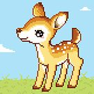 8bit Fawn by ZoeTwoDots