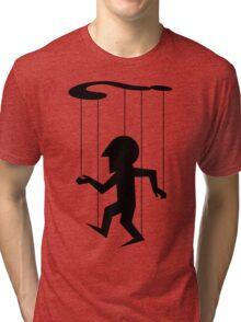 Puppet of Doubt [dark design for light t-shirt] Tri-blend T-Shirt