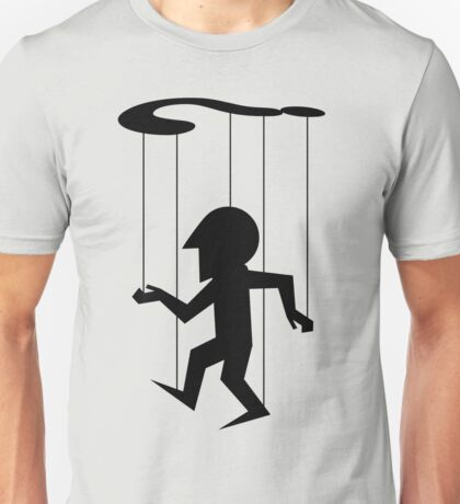 Puppet of Doubt [dark design for light t-shirt] Unisex T-Shirt