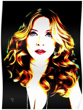 Madonna - Icon - Pop Art by wcsmack
