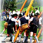 Bavarian men in action by The Creative Minds