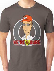 Bennylava - We're Not Too Sure Unisex T-Shirt