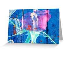 Rose Graffiti Greeting Card