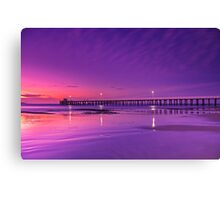 """Lonsdale Twilight Reflections"" Canvas Print"