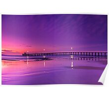 """Lonsdale Twilight Reflections"" Poster"