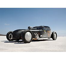 Hot Rod on the salt 1 Photographic Print