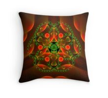 Bubble Fantasy Throw Pillow