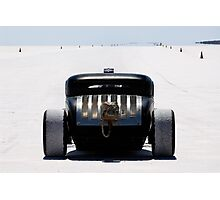 Hot Rod on the salt 2 Photographic Print