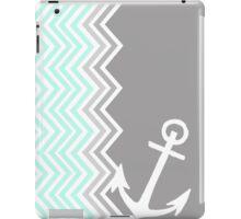 Nautical Chevron  iPad Case/Skin