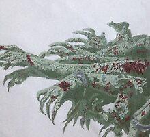 Undead horde by Arteaseum