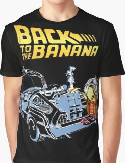 Back To The Banana Future Graphic T-Shirt