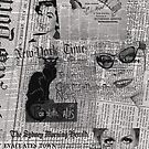 Vintage Newspaper by Sarah Edwards