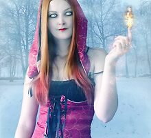 Lucia - The Flame Warden by Line Svendsen