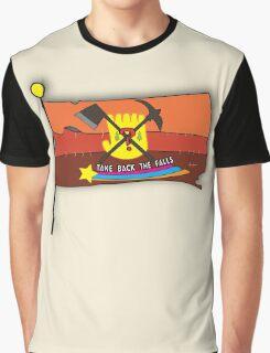 Gravity Falls: Take Back The Falls Graphic T-Shirt