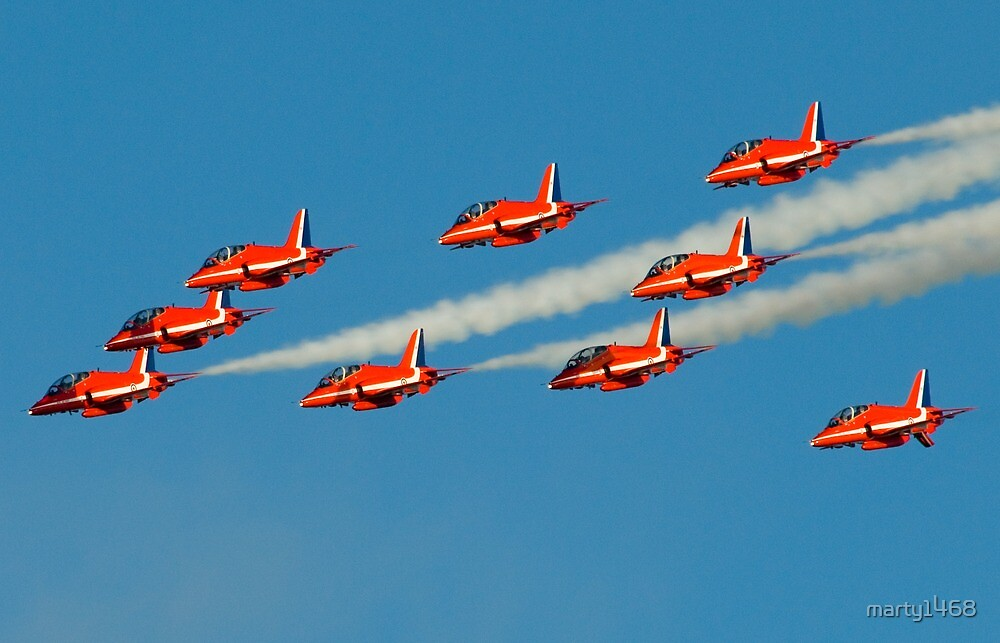 Red Arrows by marty1468