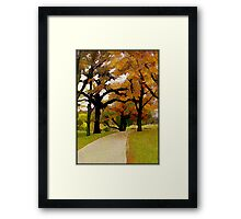 Walk with me © Framed Print