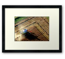 Harvest Time in England Framed Print