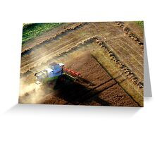 Harvest Time in England Greeting Card