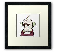 Sad Man Framed Print
