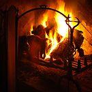Open Fire by mlphoto