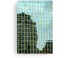 Reflections of Auckland Canvas Print