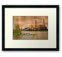 Huntly Power Station Framed Print