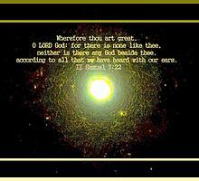 Thou Art Great, O LORD by aprilann