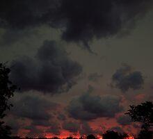Sunset over Somo by WillBov