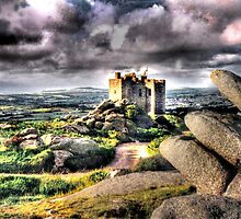 Carn Brea Castle HDR by Anthony Hedger Photography